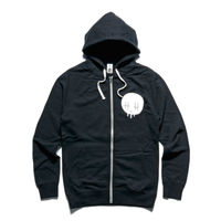 ZIP UP HOODIE WHITE TRIMS Thumbnail